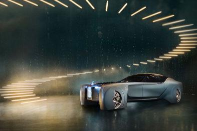 劳斯莱斯发布首款自动驾驶电动概念车