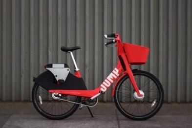 "Uber将为其共享电动单车""Jump bikes""推出充电桩"
