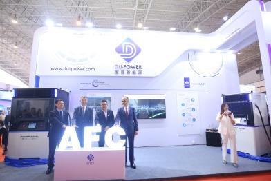 度普亮相新能源灵活储能充电桩 AFC 开创充电领域新模式