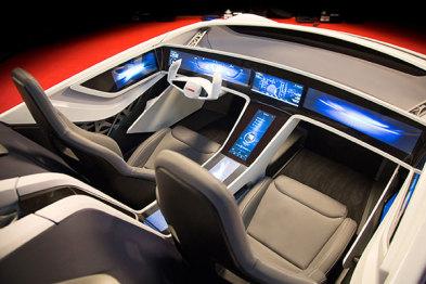 除了亮相「未来之车」,博世还加装了「物联网」套件
