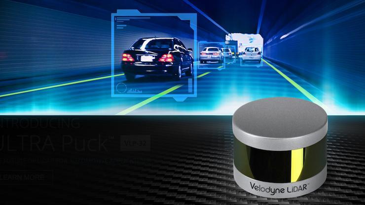 Velodyne LIDAR激光雷达
