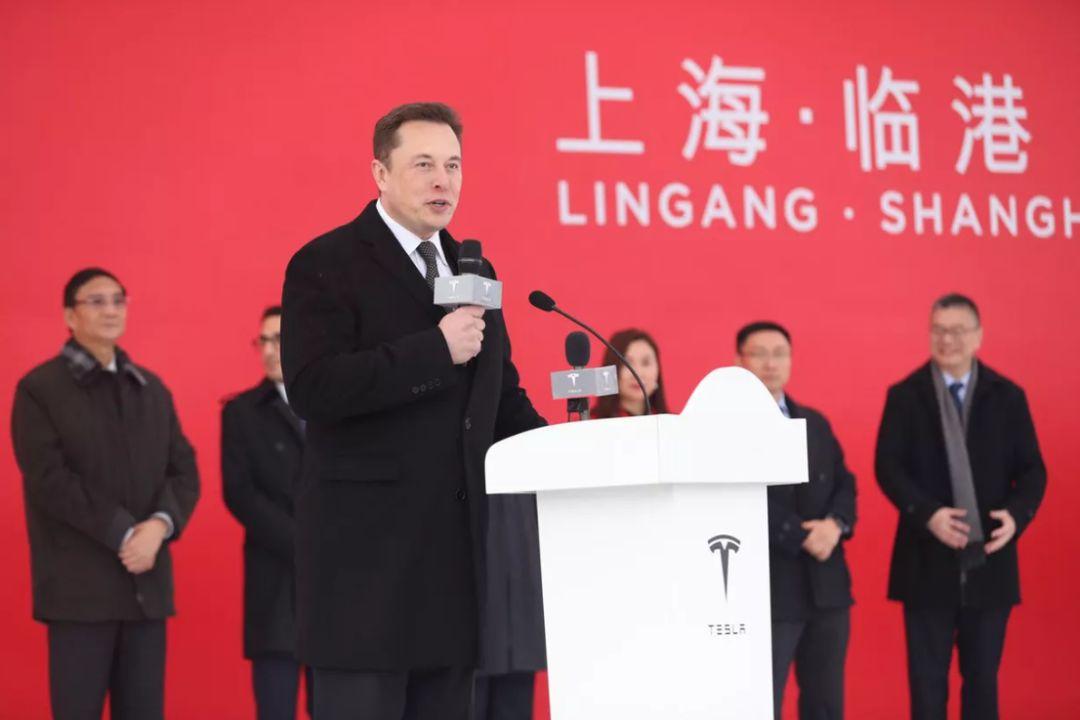 特斯拉超级工厂2019年1月在上海临港正式开工,图片来自网络