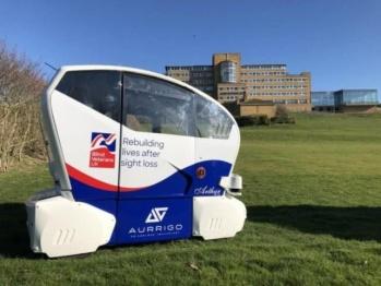 自动驾驶汽车公司Aurrigo的beta测试将使视障乘客受益