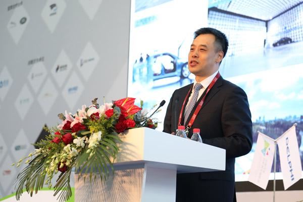 中国汽车创新孵化器联盟理事长,上海国际汽车城发展有限公司执行总经理 徐健