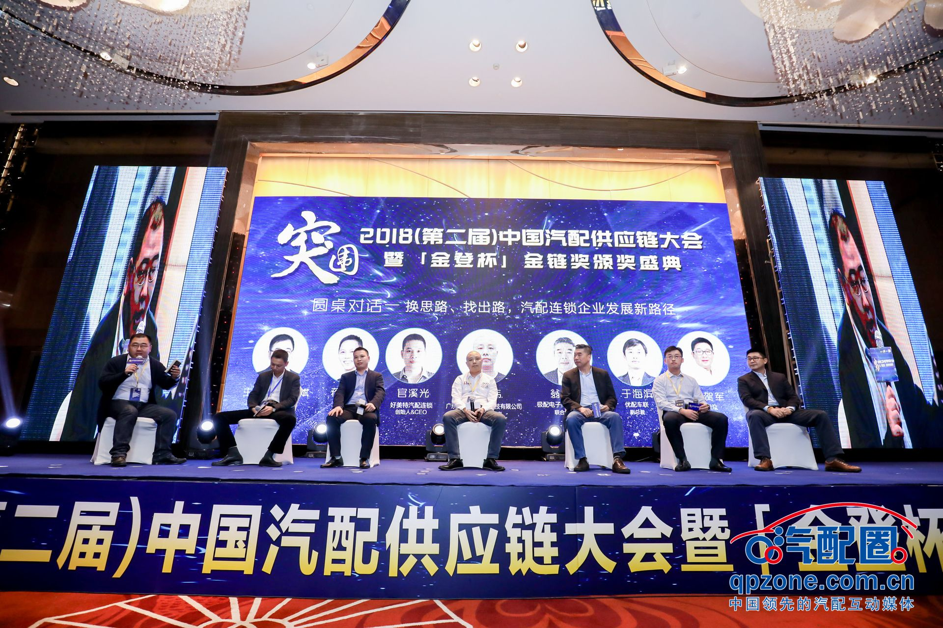 嘉宾从左往右依次为:李斌斌、蒋仁海、官溪光、林小伟、翁家和、于海滨、许贺军