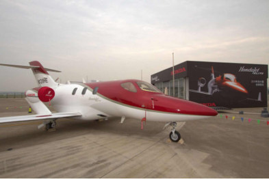 HondaJet Elite首次亮相2019亚洲公务航空展