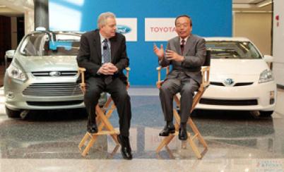 各自单飞,丰田和福特终止混合动力合作开发项目