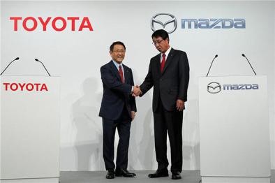 丰田收购马自达5%股份,计划在美合资建厂