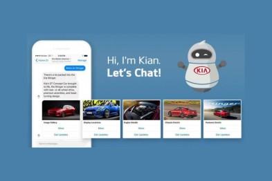 起亚推出AI聊天机器人,在Facebook帮助其销售车辆