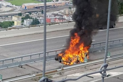 特斯拉在瑞士发生致命事故,撞车或致电池起火