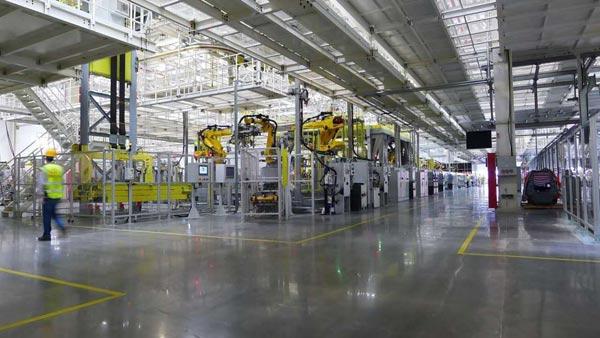 车和家常州工厂