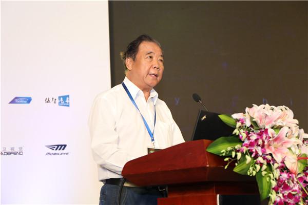 付于武,中国汽车工程学会理事长;中国智能网联汽车产业创新联盟理事长