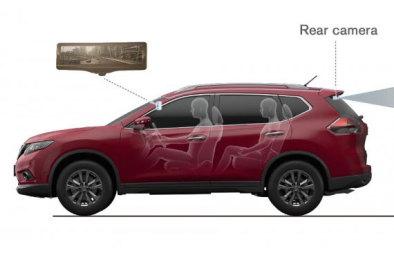 日产智能后视镜,显示屏占领车内新高地