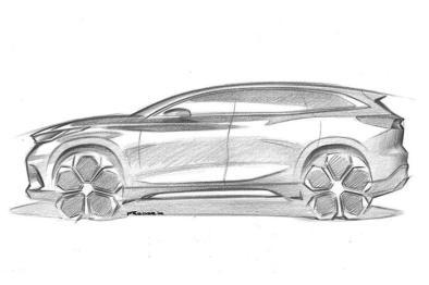 奇瑞M31T手绘图曝光,法兰克福车展将迎全球首发