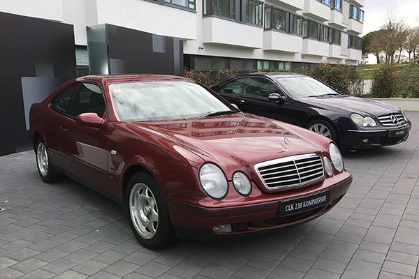 1997年奔驰用CLK取代了E Coupe,该车基于C级车的平台开发,并保持了E级车的设计与豪华感