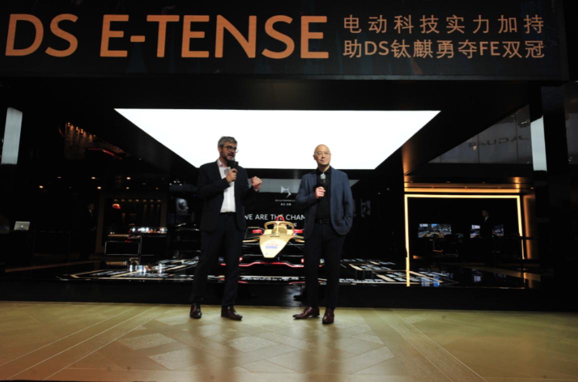 长安PSA DS产品及市场总监费安哲与DS钛麒总裁屈永恩进行交流