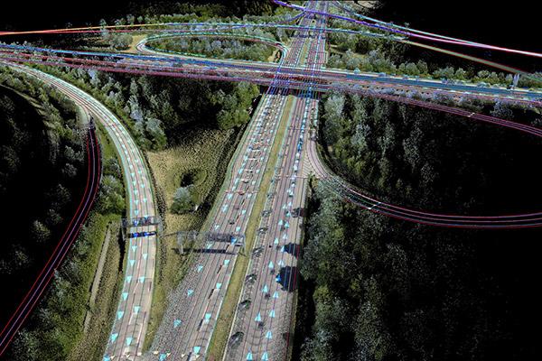 """无人驾驶汽车用来""""观察""""这个世界的高精度地图"""