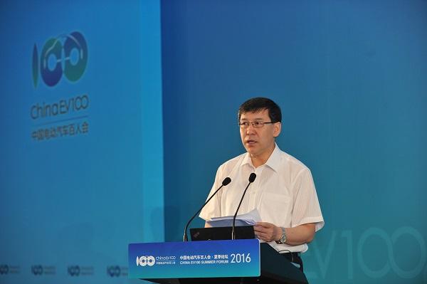 中国科学技术部副部长阴和俊