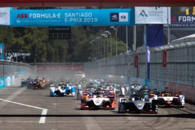 日产e.dams车队首次获得世界电动方程式锦标赛杆位