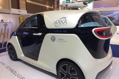 【萌物出没】法国血统的小龙人:自动驾驶车Link&Go