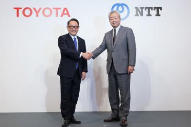 """互投2000亿日元,丰田章男称NTT是打造智慧城市的""""主动脉"""""""