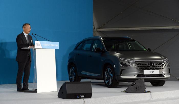 电动汽车,黑科技,前瞻技术,现代汽车集团,现代汽车集团464亿元,现代汽车集团燃料电池系统,现代NEXO,汽车新技术