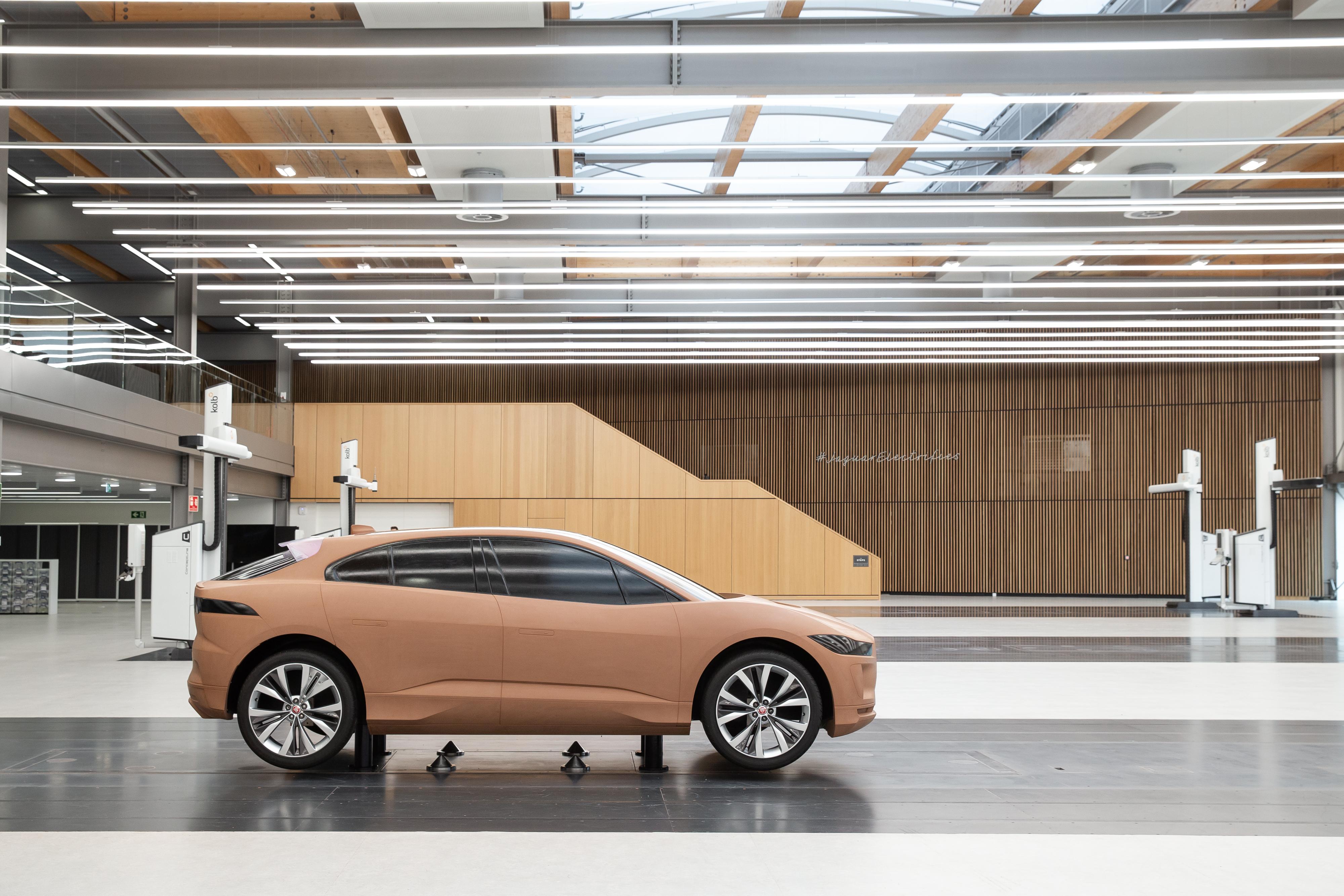 捷豹首个独立设计中心揭幕,如何用设计引领未来?