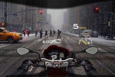 三星研发摩托车智能挡风玻璃