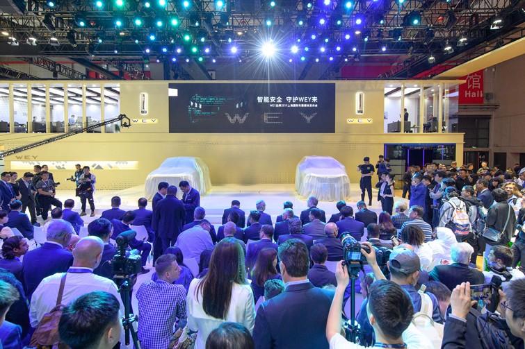 中国豪华SUV领导者WEY 携明日科技登陆上海车展
