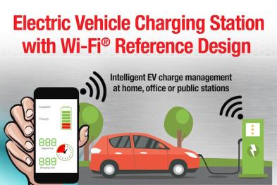 TI推出将WiFi添加到充电站的参考设计