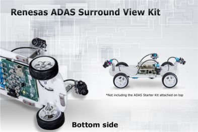 瑞萨发布ADAS高清3D环视、标清环视和虚拟仪表盘解决方案