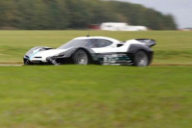 蔚来汽车首款超跑实车曝光,时速超300km/h