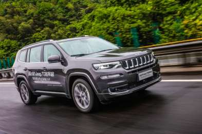 全新Jeep大指挥官上市售27.98-40.98万