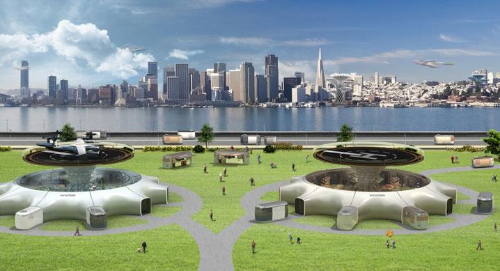 现代汽车集团对未来城市智慧移动出行的创新愿景
