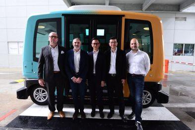 大陆与EasyMile签署谅解备忘录,在新加坡合作开展自动驾驶测试