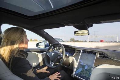 特斯拉展示自動緊急剎車系統