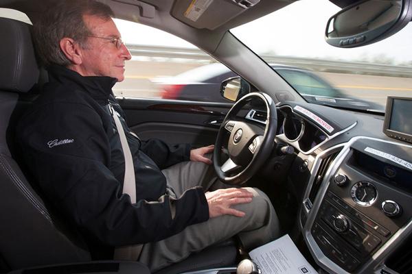 搭载了Super Cruise的凯迪拉克自动驾驶试验车