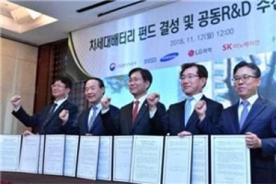 韩国三大电池厂商联手开发核心技术,欲制霸新能源行业