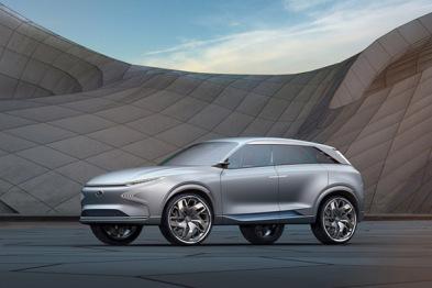 现代推出全新氢燃料SUV,最大续航超800公里