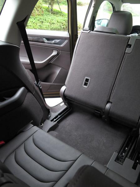 第三排座椅的收支空间