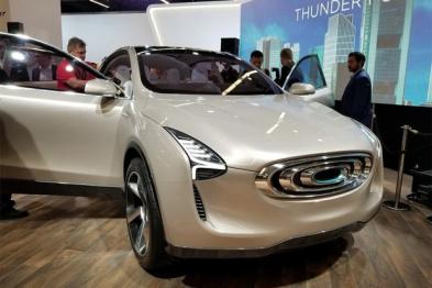 台湾车企昶洧在法兰克福车展发布首款SUV