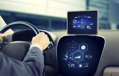 IRYStec展示可无缝集成至汽车显示系?#36710;腟DK