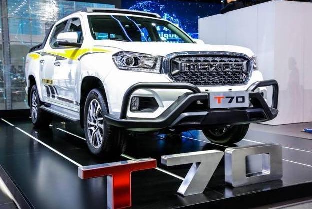 今年上海车展期间,上汽大通MAXUS T70首次亮相