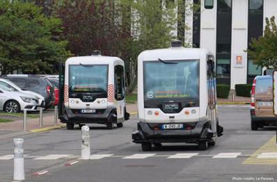 EasyMile开展多方合作,研发全尺寸无人驾驶客车