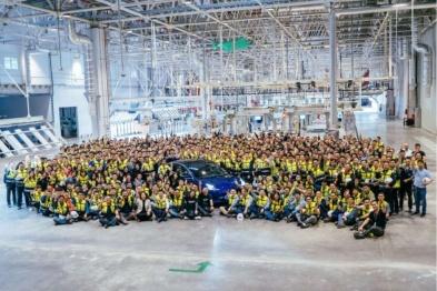 """特斯拉国产Model 3下线,周产3000辆或引行业""""地震"""""""