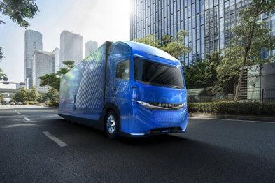 戴姆勒集团推出电动卡车E-Fuso Vision One