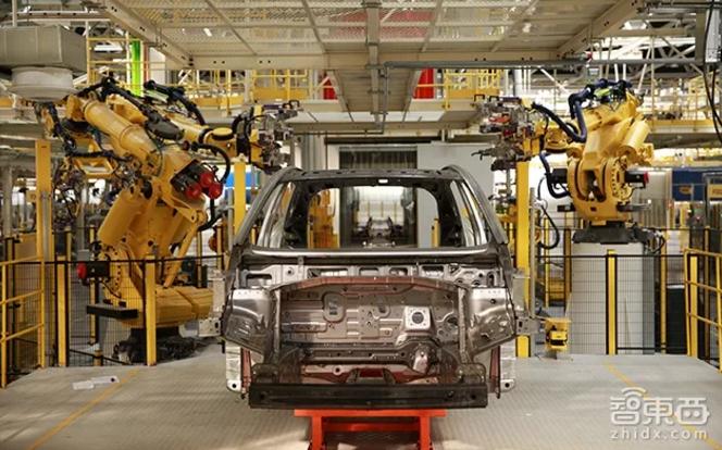威马汽车工厂内景