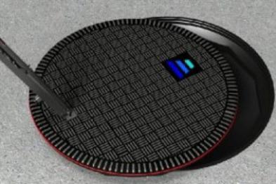 """这不是井盖,是""""伪装""""的汽车无线充电站"""