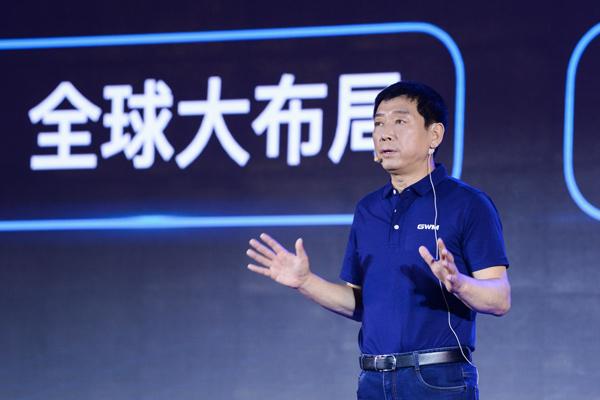 魏建军:中国品牌领跑的机会只有一次,稍纵即逝