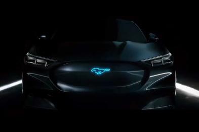"""神秘的""""纯电动Mustang?#20445;?#31119;特的特斯拉杀手"""